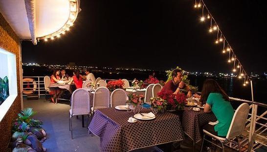 Romantic dinner on cruise on Saigon River