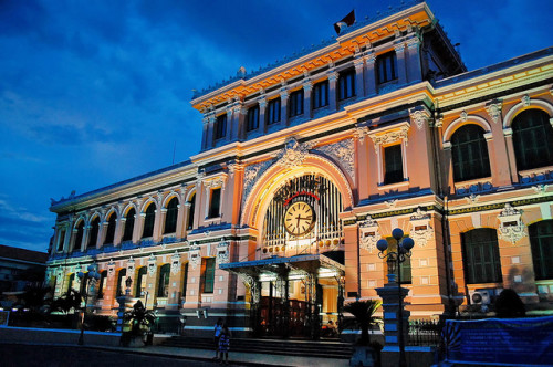 Overview of Saigon Central Post Office