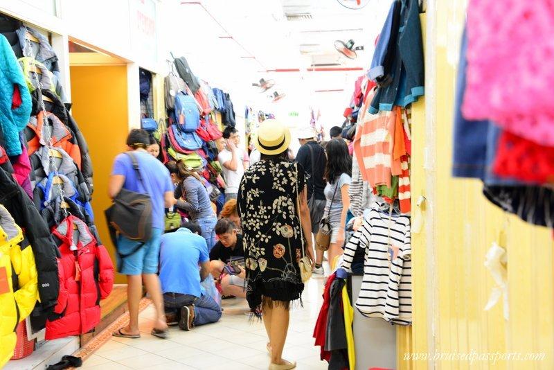 shopping in saigon