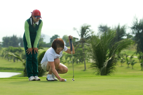 vung tau paradise golf course